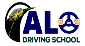 ALO DRIVING SCHOOL Logo
